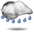 Forecast: Increasing clouds and warmer. Precipitation possible within 12 to 24 hours. Windy.
